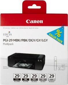 Socially Conveyed via WeLikedThis.co.uk - The UK's Finest Products -   Canon PGI29 Ink Cartridge Multi Pack - Matte Black/ Photo Black/ Dark Grey/ Grey/ Light Grey http://welikedthis.co.uk/canon-pgi29-ink-cartridge-multi-pack-matte-black-photo-black-dark-grey-grey-light-grey