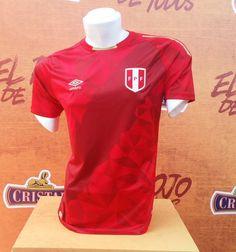Terceira camisa do Peru 2018 Umbro Peru Football, Football Shirts, Jersey Atletico Madrid, Polo Ralph Lauren, Ganesh, Mens Tops, Rams New Uniforms, Everything, T Shirts