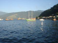Trajeto para ilha Guaiba