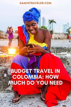 Budget Travel in Colombia and how much do you need per day in accommodation, food and transportation to move around Colombia. Backpacking South America, South America Travel, North America, Travel Guides, Travel Tips, South America Destinations, Travel Destinations, Colombia Travel, Asia Travel