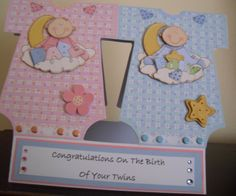 What a great idea for a twin card!
