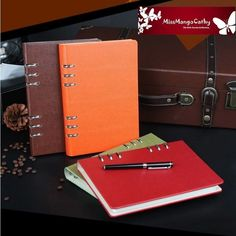 """""""Running Well"""" Business Study Loose Leaf Notebook Diary Planner Scheduler Agenda #Unbranded"""