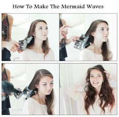 How to make the marmaid waves