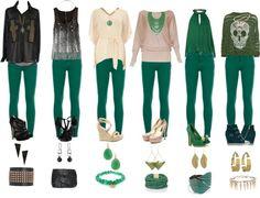 26 Ideas De Outfits Pantalon Verde En 2021 Moda Para Mujer Ropa De Moda Ropa Casual
