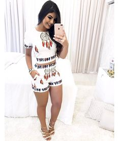 """""""Lookzinho"""" mara yes or not? Short Outfits, Sexy Outfits, Casual Outfits, Cute Outfits, Fashion Dresses, Girl Fashion, Fashion Looks, Womens Fashion, Winter Outfits"""