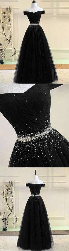 Black tulle sequin long prom dress, black tulle evening dress, Shop plus-sized prom dresses for curvy figures and plus-size party dresses. Ball gowns for prom in plus sizes and short plus-sized prom dresses for Prom Dress Black, Pretty Prom Dresses, Black Party Dresses, Black Evening Dresses, A Line Prom Dresses, Tulle Prom Dress, Dance Dresses, Elegant Dresses, Homecoming Dresses