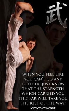 Martial arts motivation