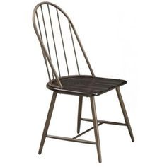 Shelbey Brown Windsor Country Style Dining Chairs (Set of 4)
