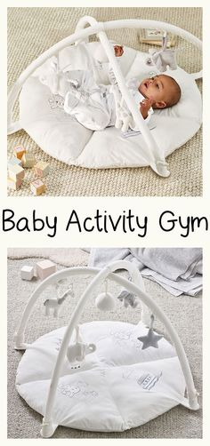 I love this gender neutral baby's activity gym! This is gorgeous for our nursery. Our first baby was entertained for hours on his playmat! So, I totally want this for our baby girl as well. #genderneutralnursery #babygirl #babyboy #playmat #ad