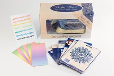 Tattered Lace Baby Blue Machine Bundle.The deadline to enter is June 5, 2016
