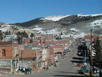 Cripple Creek, Colorado. Old Mining town turned into Casinos. Beautiful drive in the fall.