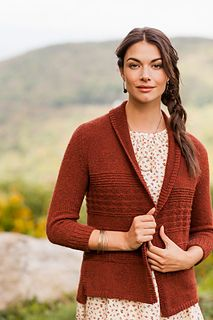 Brooklyn Tweed's latest book of patterns.  As usual all beautifully photographed.  My next project will be this persimmon cardigan.