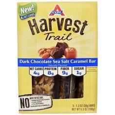 Atkins Harvest Trail Bar Dark Chocolate Sea Salt Caramel