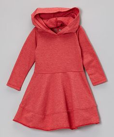Orange Hooded Dress by NANO on #zulily #ad *Do they make this in my size. {winks}