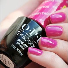franciscojavierreyescaer OPI Gelcolor The berry idea of you OPI from TailorMade Nails UK # berry # Opi Nail Polish Colors, Best Gel Nail Polish, Nail Colors, Nail Polishes, Shellac Colors, Opi Polish, Henna Designs, Diy Nail Designs, Polka Dot Nails
