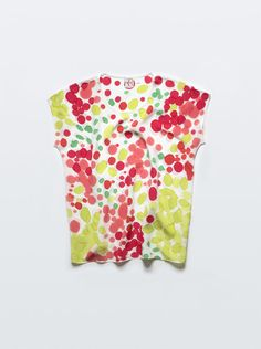 Citrus Punch Silk Tee by byrachelrose on Etsy
