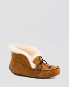 UGG® Australia Moccasin Slippers - Alena | Bloomingdale's - 7.5