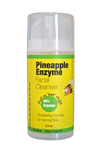 Bubble and Bee Organic - Pineapple Enzyme Facial Cleanser, $10.49 (http://bubbleandbee.com/organic-pineapple-enzyme-facial-cleanser/)
