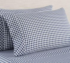 Shop gingham sheets from Pottery Barn. Our furniture, home decor and accessories collections feature gingham sheets in quality materials and classic styles. Percale Sheets, Linen Sheets, Linen Bedding, Bed Linens, Bed Sheets, Cotton Bedding, Flat Sheets, Organic Cotton Sheets, Cotton Sheet Sets