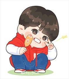 Fanart Bts, Taehyung Fanart, Kpop Drawings, Kawaii Drawings, Bts Chibi, Anime Chibi, Twitter Bts, Dibujos Cute, Jungkook Cute