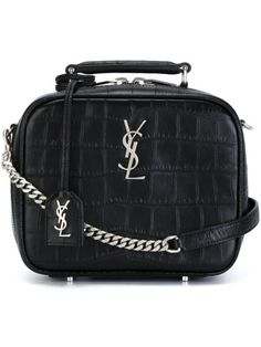 Shop Saint Laurent 'Monogram' lunchbox crossbody bag in Vitkac from the world's best independent boutiques at farfetch.com. Shop 400 boutiques at one address.