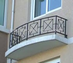 Image result for wrought iron balcony railings simple designs
