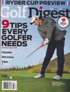 Golf Digest Magazine (9 Tips Every Golfer Needs, « Library User Group