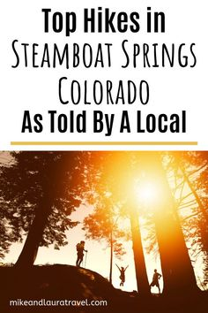 Taking a trip to Steamboat Springs, Colorado? Be sure to add these 11 incredible hikes to your to-do list. These are some of the best things to do in Steamboat and the best hikes in Colorado. Steamboat Springs Colorado, Colorado Hiking, Steam Boats, Utah Hikes, Best Hikes, Day Hike, Travel Couple, Hiking Trails, Rocky Mountains