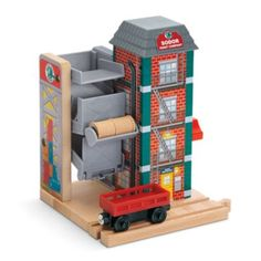 Sodor Paint Factory | TracksandaccessoriesCat | Thomas Wooden Railway