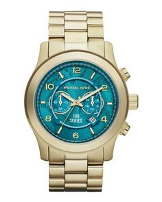 Michael Kors Watch Hunger Stop Oversized 100 Series Watch.  Ooh how I love you!
