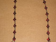 Granat collier ebay