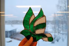 My very first touch in glass crafts.