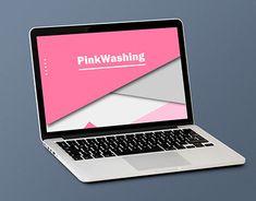 """Check out new work on my @Behance portfolio: """"PinkWashing - web design"""" http://be.net/gallery/64321931/PinkWashing-web-design"""