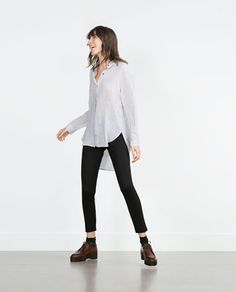 Image 1 of BODY SHAPING LEGGINGS from Zara