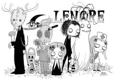 Lenore the Little Dead Girl