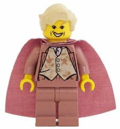 Gilderoy Lockhart (Sand Red) - LEGO Harry Potter Minifigure by LEGO. $34.49. harry potter minifig. Sand red. Gilderoy Lockhart. Exclusive to LEGO Set 4730 Chamber of Secrets