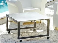 Floating Top Teppanyaki Grill Tables On Wheels | Casual Height To Bar  Height Adjustable   Cook