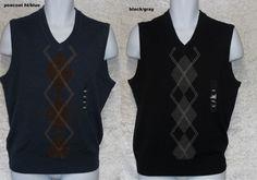 Dockers Comfort touch Argyle Sweater Vest Men's size S M XXL NEW  19.99 http://www.ebay.com/itm/Dockers-Comfort-touch-Argyle-Sweater-Vest-Mens-size-S-M-XXL-NEW-/251577484672?ssPageName=STRK:MESE:IT