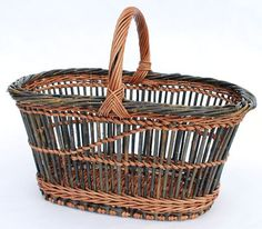 fitched willow basket by Katherine Lewis