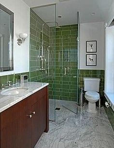 curbless shower bathroom designs | Curbless shower 4