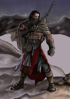 Desenho: Paulo Silva Pintura: Raphael Trocado