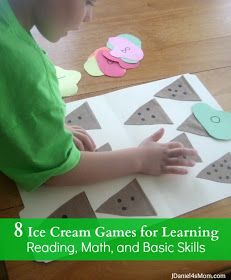8 Ice Cream Games for Learning  by JDaniel4's Mom