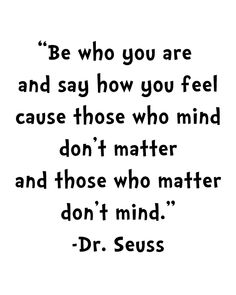 Free Dr. Seuss Quote Printable - perfect for playroom!