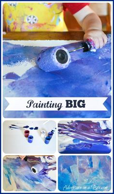 Painting Big with To
