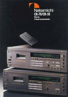 Nakamichi CR-7E and 5E