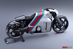 """Lotus reveals more details of its 200 bhp, 181 kg motorcycle. It's penned by former Bugatti designer Daniel Simon, best known for his """"Tron: Legacy"""" Lightcycle."""