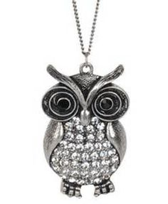 Cute Owl Necklace - Stylehive