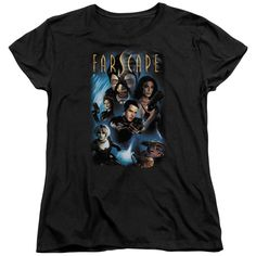 """Checkout our #LicensedGear products FREE SHIPPING + 10% OFF Coupon Code """"Official"""" Farscape / Comic Cover - Short Sleeve Women's Tee - Farscape / Comic Cover - Short Sleeve Women's Tee - Price: $29.99. Buy now at https://officiallylicensedgear.com/farscape-comic-cover-short-sleeve-women-s-tee"""