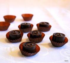 Levendula & Csokoládé: Gyömbéres-citromos bonbon Mini Cupcakes, Food, Essen, Meals, Yemek, Eten