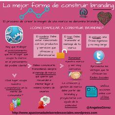 Cómo debe crear tu marca branding #infografia #infographic #branding